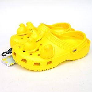 Peeps X Crocs Yellow Classic Clog Slide On Sandal